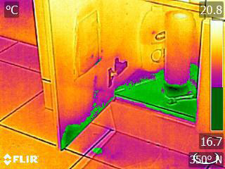 IR detected water leak (2)